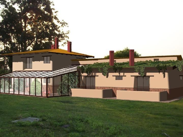 Casa de campo noeste for Casa de campo arquitectura